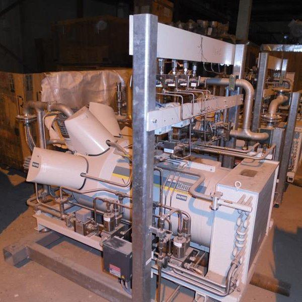 Gaseous Nitrogen Compressing Plant, 180 Nm3/Hr