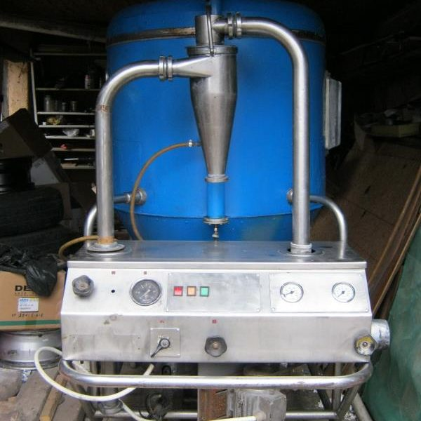 2'7″ X 2′ Stainless Steel Niro Atomizer Pilot Spray Dryer
