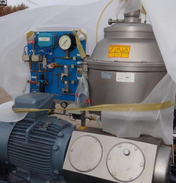 Alfa Laval CHB 215T-75CEFP-50 Solids Retaining Centrifugal Separator