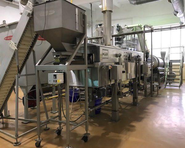 Used Food Pellet Frying Line 800 Kg/Hour