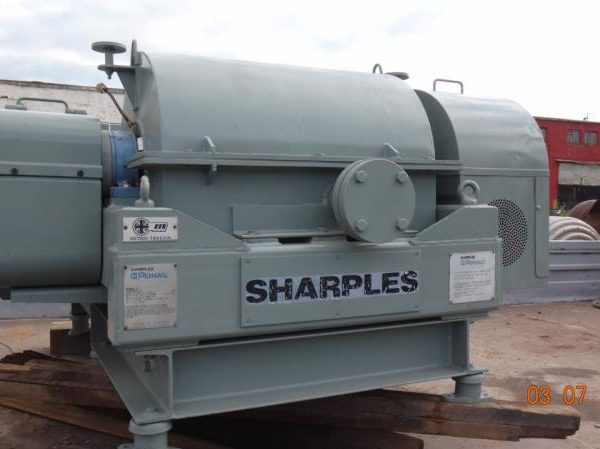Sharples P2000 Super-D-Canter 356mm Dia x 572mm Long Bowl Stainless Steel Centrifuge