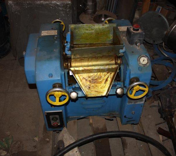 Drais Model Dh-3 Carbon Steel Triple Roll Mill