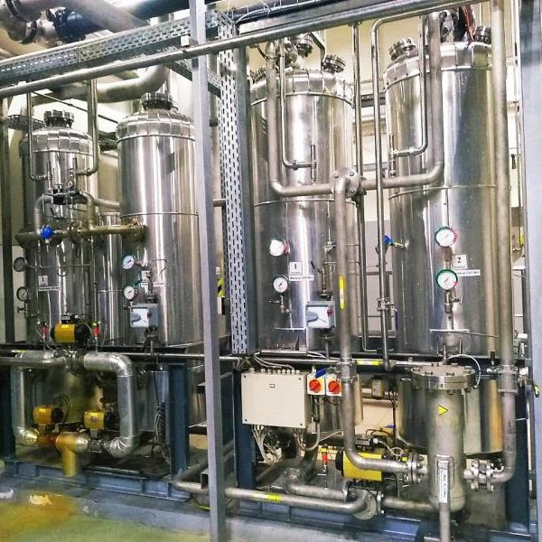 Part of Carbon Dioxide Recovery Plant, 1650 kg/hour