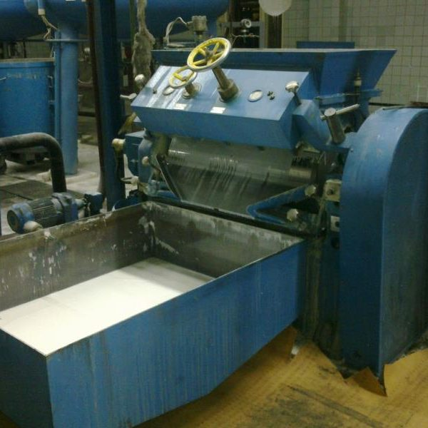 Drais Model EH4L Carbon Steel Single Roll Mill