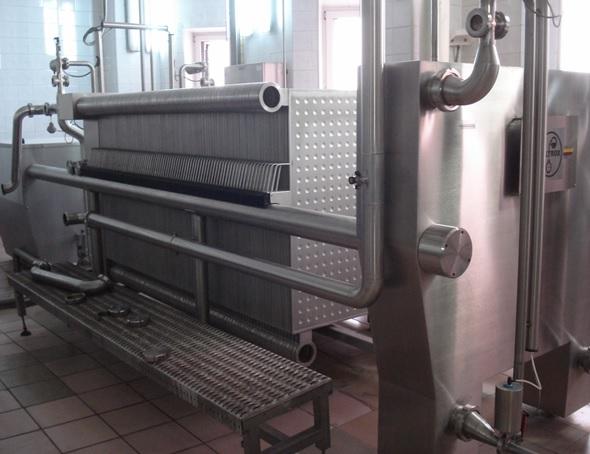 1000 x 2000 mm stainless steel plate filterpress Filtrox Novox 1200