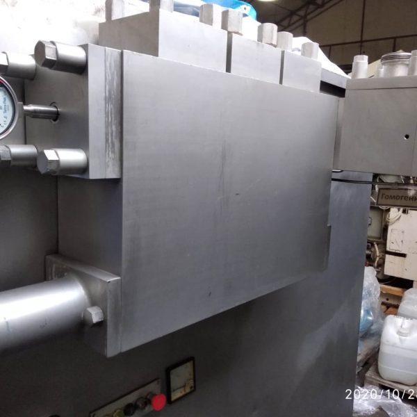 6600 GPH @ 2756 PSI Alfa Laval SHL40 Stainless Steel Homogenizer