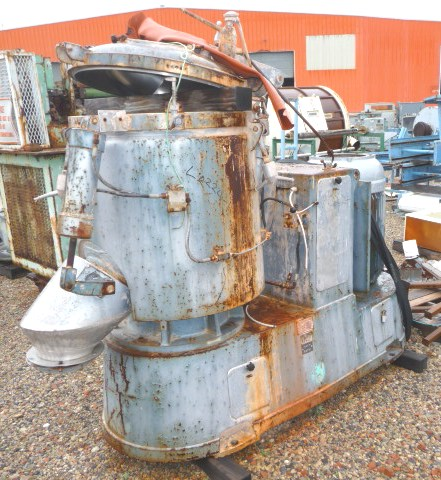 300 Liter Papenmeier Model TSHK300 High Intensity Mixer