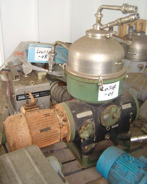 Westfalia 0P 8006 TA 40-01-506 Separator