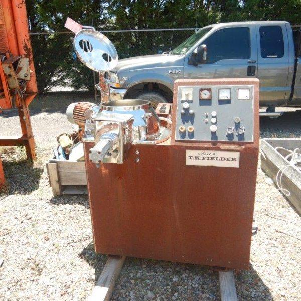 25 Litre Fielder Model PMA 25 2G Stainless Steel Pharma Matrix Mixer