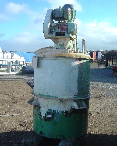 1,500 Litre Mastermix Carbon Steel Pre-Mix Disperser
