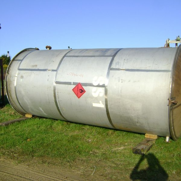 18000 Litres 316 Stainless Steel Vertical Storage Tank