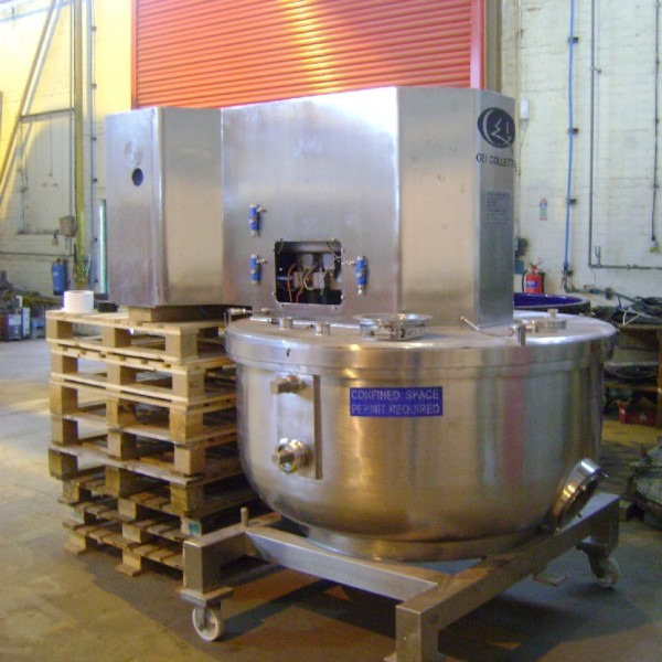 1200 Litre Collette Type Gral1200 Stainless Steel Mixer Granulator