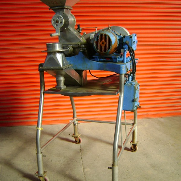 10 HP Stainless Steel Manesty Model D Comminuting Mill