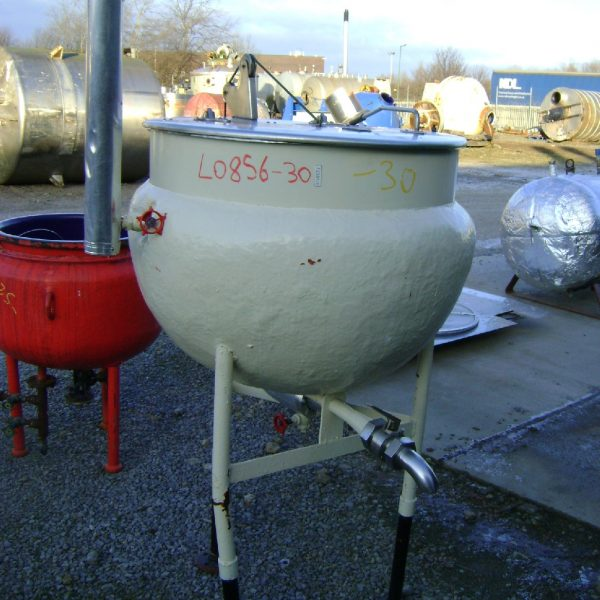 300 Litre Stainless Steel Pan Vessel