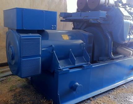 2000 kW 400 Volts Cogeneration Plant