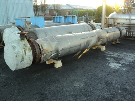 35.2 Sq. Meter Horizontal Shell and Tube Heat Exchanger