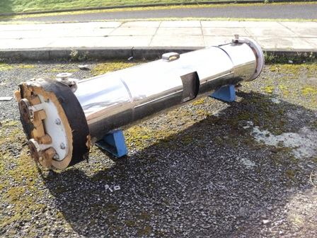 1.5 Sq. M. Horizontal Shell and Tube Heat Exchanger