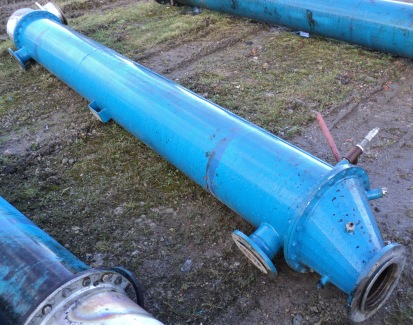 27.1 Sq. Meter Enalco Horizontal Shell and Tube Heat Exchanger