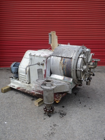 20″ Krauss Maffei SZ50-1-B-L 2-Stage Pusher Centrifuge