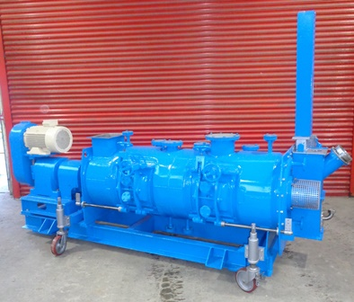 600 Litre Lodige Model KM 600D-3ZMZ 321 Stainless Steel Continuous Ploughshare Mixer