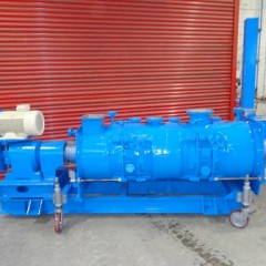 600 Litre Lödige Model KM 600D-3ZMZ 321 Stainless Steel Ploughshare Mixer, Used Refurbished