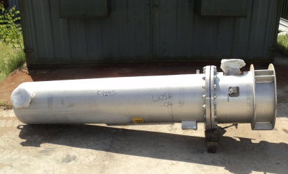 30 Sq. M. Vertical Shell and Tube Heat Exchanger