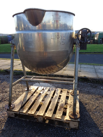 400 Litre Stainless Steel Jacketed Pan