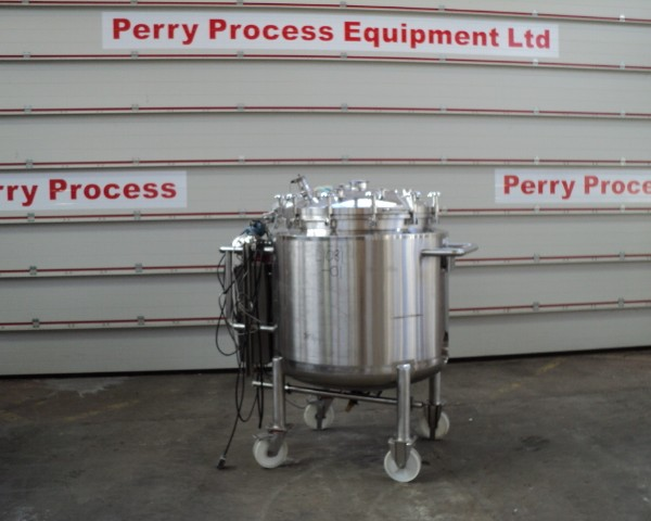 500 Litre, 3 Bar Internal, 5.5 Bar Jacket, 316L Stainless Steel Reactor