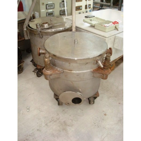60 Litre Talleres Miralles Stainless Steel Trolley Tanks