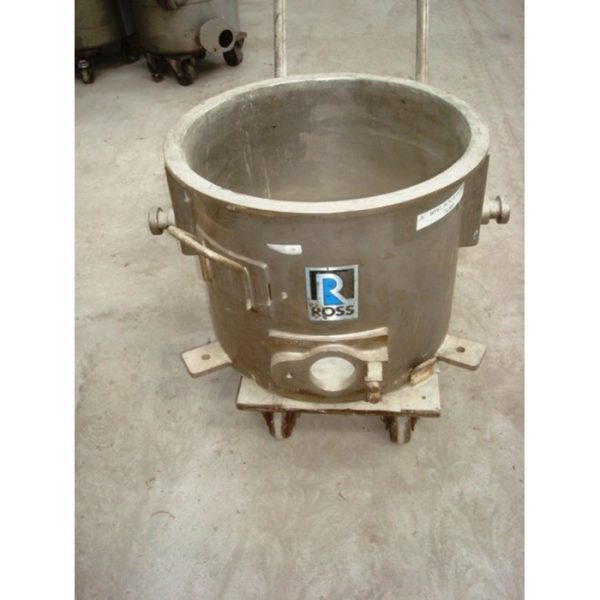 55 Litre Ross Stainless Steel Open Top Trolley Tanks