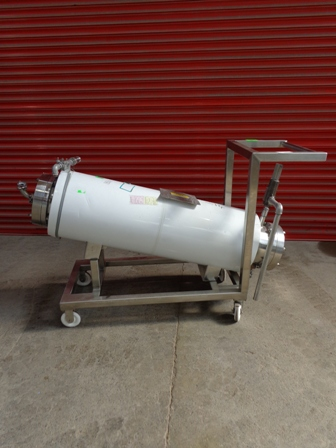 53 Sq. Foot Chemineer Horizontal Shell and Tube Heat Exchanger