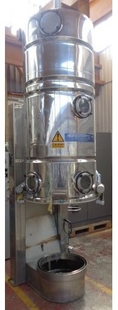 Aeromatic Model S-4 Stainless Steel Fluid Bed Dryer/Spray Granulator