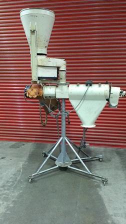 11″X 24′ KEK Model SO Mild Steel Cylindrical Brush Sifter