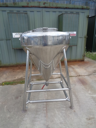 600 Litre 316 Stainless Steel Vessel