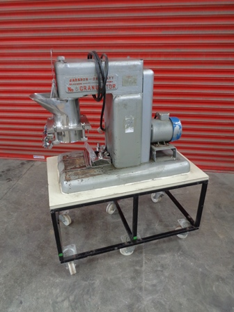 Jackson Crockatt Model No. 6 Stainless Steel Reciprocating Granulator