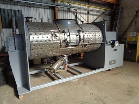3,000 Litre Morton Model FM3000 Stainless Steel Ploughshare Mixer, Refurbished