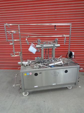 90 GPH @ 12000 PSI Microfluidics Model M-210E/H Pilot Scale Microfluidizer Stainless Steel Processor