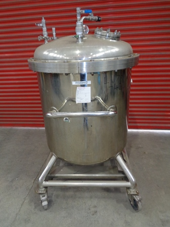 650 Litre Stainless Steel Vertical Vessel