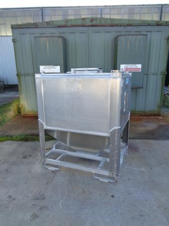 1,600 Litre BSI & Soneco Aluminium IBC