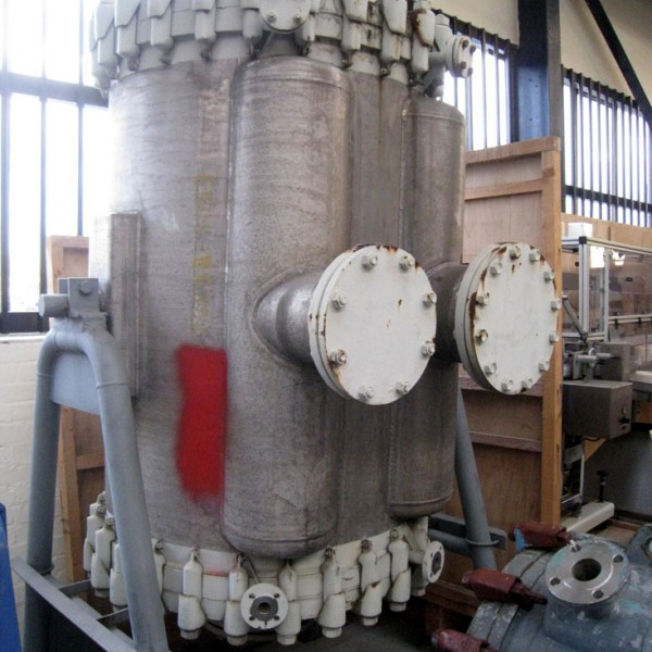 50 Sq. M. Carl Canzler 316TI Stainless Steel Spiral Heat Exchanger