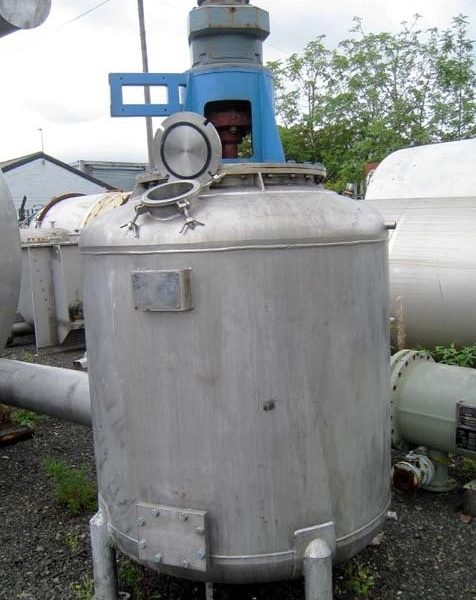 1200 Litres Stainless Steel Vertical Mixing Vessel