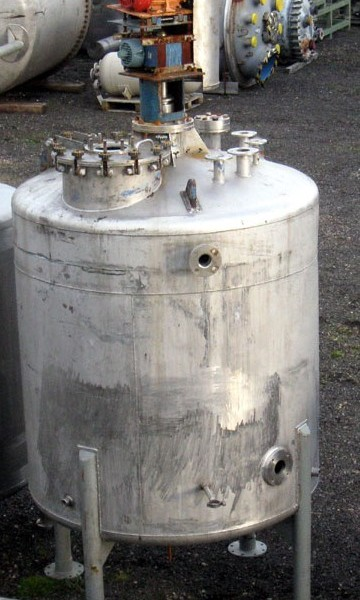3000 Litres Stainless Steel Vertical Mixing Vessel
