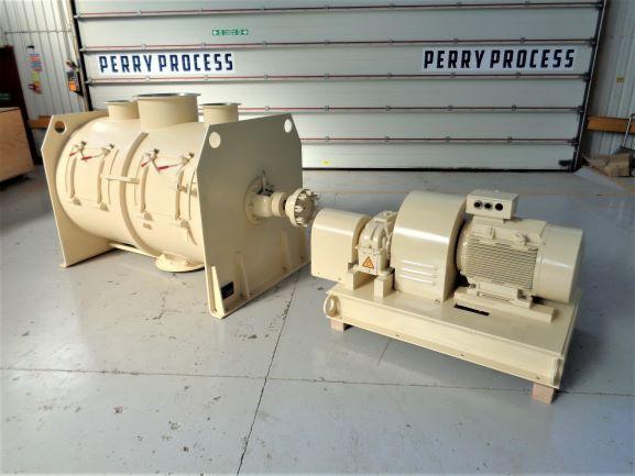 1,600 Litre Lödige FKM1600D Stainless Steel Ploughshare Mixer