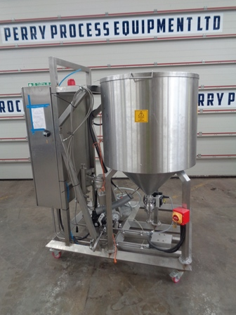 300 Litre Stainless Steel Vertical Jacketed Mixing Vessel