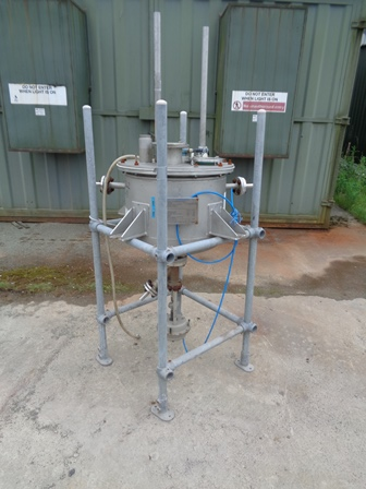 84 Litre, 0.5 Bar Internal, 6 Bar Jacket, Stainless Steel Process Vessel Reactor