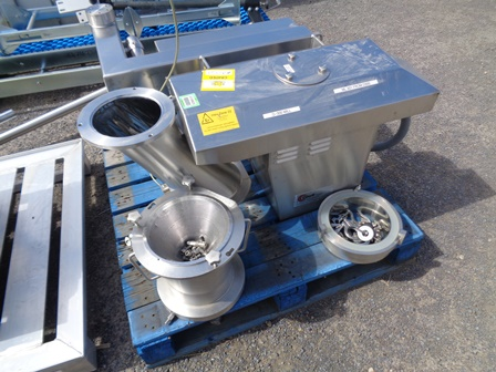 Glatt Model GS220 Stainless Steel Mill