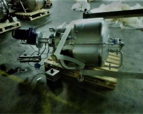 Hm Rustfri Design Tank Combination Consisting Of (1) Hm Rustfri Design Jacketed Tank,  Stainless Steel, Working Capacity 13