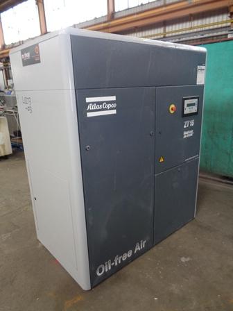 63.8 CFM, 145 PSI Atlas Copco Air Compressor