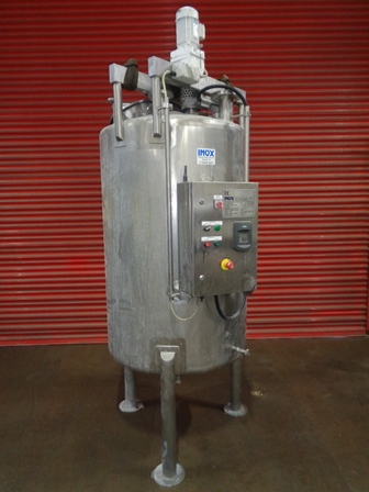 1,000 Litre Stainless Steel Vertical Mixing Vessel