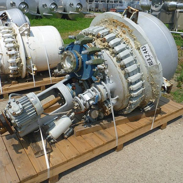 500 Litre De Dietrich ST500 Glass Lined Reactor